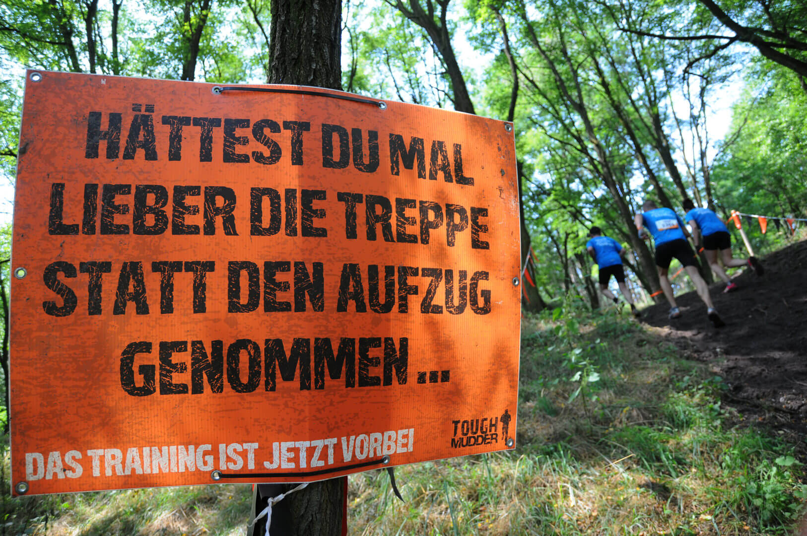Tough Mudder Schild
